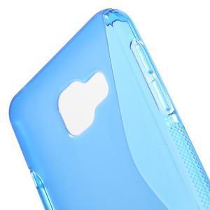 S-line gelové obal na mobil Samsung Galaxy A3 (2016) - modrý - 5