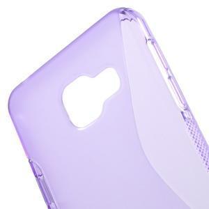 S-line gelové obal na mobil Samsung Galaxy A3 (2016) - fialový - 5