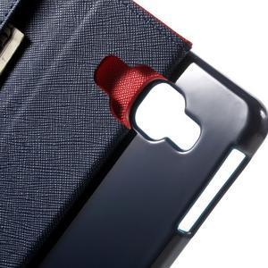 Goospery peněženkové pouzdro na Samsung Galaxy A3 (2016) - červené - 5