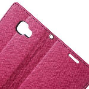 Goospery peněženkové pouzdro na Samsung Galaxy A3 (2016) - rose - 5