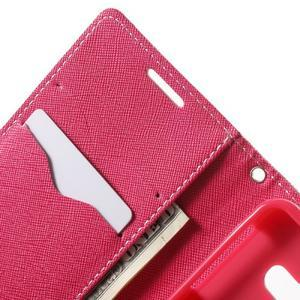 Goospery peněženkové pouzdro na Samsung Galaxy A3 (2016) - růžové - 5