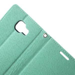 Goospery peněženkové pouzdro na Samsung Galaxy A3 (2016) - cyan - 5