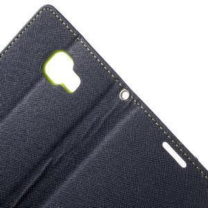 Goospery peněženkové pouzdro na Samsung Galaxy A3 (2016) - tmavěmodré - 5