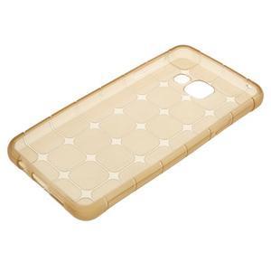 Cube gelový obal na mobil Samsung Galaxy A3 (2016) - zlatý - 5