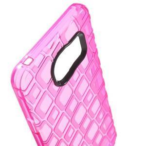 Square gelový obal na mobil Samsung Galaxy A3 (2016) - rose - 5