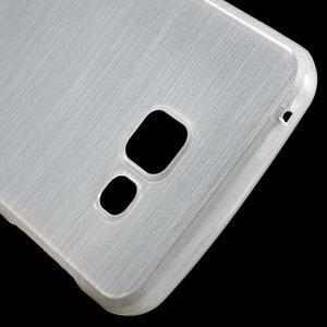Gelový obal s motivem broušení na Samsung Galaxy A3 (2016) - bílý - 5