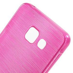Gelový obal s motivem broušení na Samsung Galaxy A3 (2016) - rose - 5