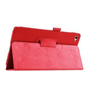 Safe polohovatelné pouzdro na tablet Huawei MediaPad M2 8.0 - červené - 5