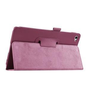Safe polohovatelné pouzdro na tablet Huawei MediaPad M2 8.0 - fialové - 5