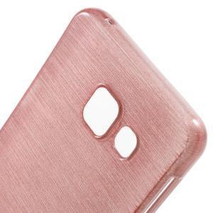 Gelový obal s motivem broušení na Samsung Galaxy A3 (2016) - růžový - 5