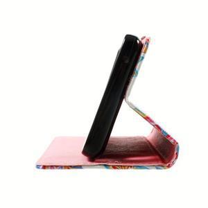 Peňaženkové puzdro pre mobil Lenovo A536 - mandala - 5
