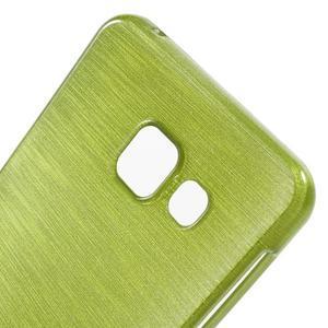 Gelový obal s motivem broušení na Samsung Galaxy A3 (2016) - zelený - 5