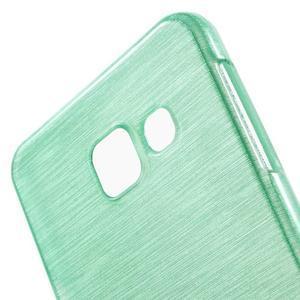 Gelový obal s motivem broušení na Samsung Galaxy A3 (2016) - azurový - 5
