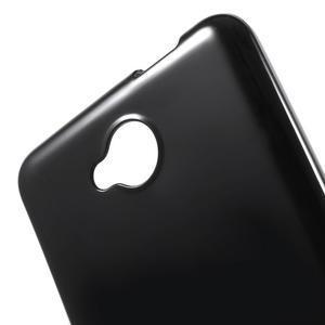 Lesklý gelový obal na mobil Microsoft Lumia 650 - černý - 5