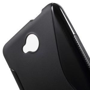 S-line gelový obal na mobil Microsoft Lumia 650 - černý - 5
