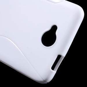 S-line gelový obal na mobil Microsoft Lumia 650 - bílý - 5
