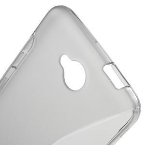S-line gelový obal na mobil Microsoft Lumia 650 - šedý - 5
