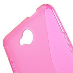 S-line gelový obal na mobil Microsoft Lumia 650 - rose - 5