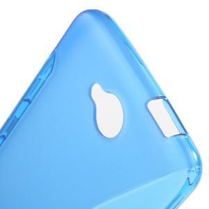 S-line gelový obal na mobil Microsoft Lumia 650 - modrý - 5