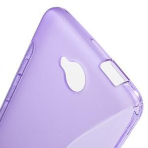 S-line gelový obal na mobil Microsoft Lumia 650 - fialový - 5