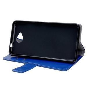 Fold peněženkové pouzdro na Microsoft Lumia 650 - modré - 5