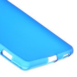 Matný gelový kryt pro Sony Xperia M5 - modrý - 5