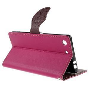 Blade peněženkové pouzdro na Sony Xperia M5 - rose - 5