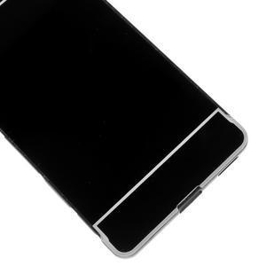 Kryt s kovovým obvodem pro Sony Xperia M5 - černý - 5