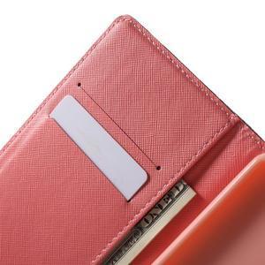 Stand peněženkové pouzdro na Sony Xperia M5 - květinový strom - 5