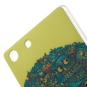 Gelovy obal na mobil Sony Xperia M5 - strom soviček - 5