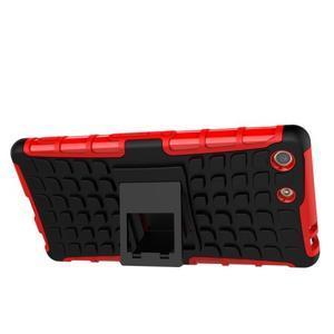 Outdoor odolný kryt na mobil Sony Xperia M5 - červený - 5