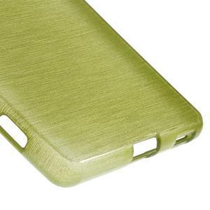 Brush gelový obal pro Sony Xperia M5 - zelený - 5