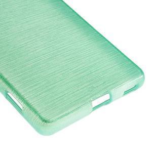 Brush gelový obal pro Sony Xperia M5 - cyan - 5