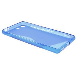 S-line gelový obal na mobil Sony Xperia M5 - modré - 5