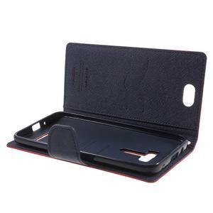 Mr. Goos peněženkové pouzdro na Asus Zenfone Selfie ZD551KL - červené - 5