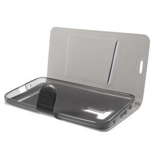 Horse peněženkové pouzdro na Asus Zenfone Selfie ZD551KL - černé - 5
