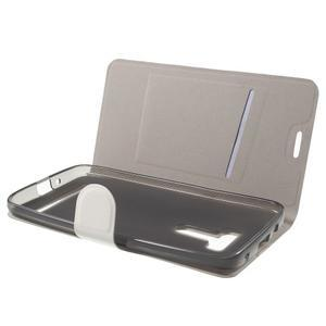 Horse peněženkové pouzdro na Asus Zenfone Selfie ZD551KL - bílé - 5