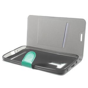 Horse peněženkové pouzdro na Asus Zenfone Selfie ZD551KL - modré - 5