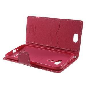 Mr. Goos peněženkové pouzdro na Asus Zenfone Selfie ZD551KL - růžové - 5
