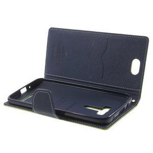 Mr. Goos peněženkové pouzdro na Asus Zenfone Selfie ZD551KL - zelené - 5