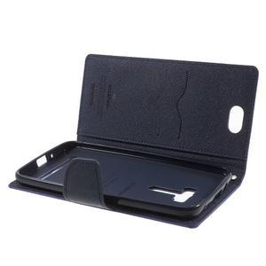 Mr. Goos peněženkové pouzdro na Asus Zenfone Selfie ZD551KL - fialové - 5