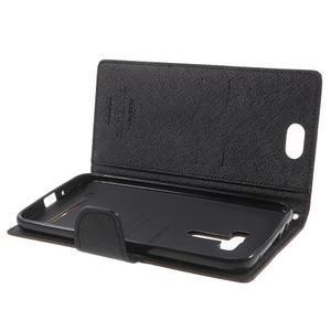 Mr. Goos peněženkové pouzdro na Asus Zenfone Selfie ZD551KL - hnědé - 5