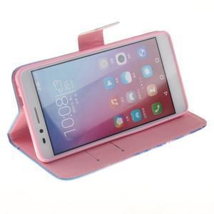Peněženkové pouzdro pro mobil Honor 5X - triangl - 5