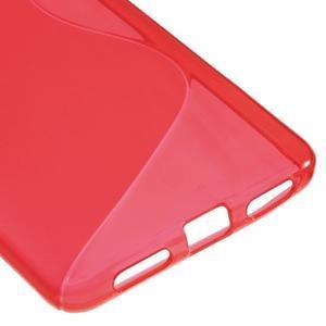 S-line gelový obal na mobil Honor 5X - červený - 5