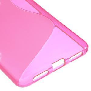 S-line gelový obal na mobil Honor 5X - rose - 5