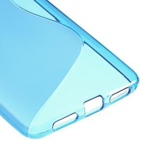 S-line gelový obal na mobil Honor 5X - modrý - 5