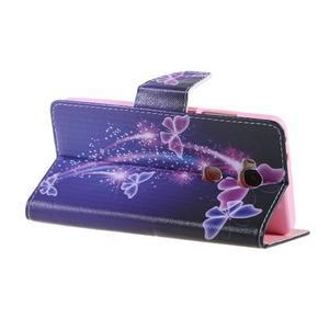 Knížkové pouzdro na mobil Honor 5X - kouzelní motýlci - 5