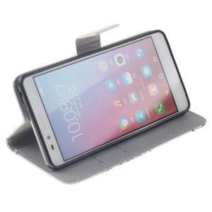 Peněženkové pouzdro pro mobil Honor 5X - láska - 5