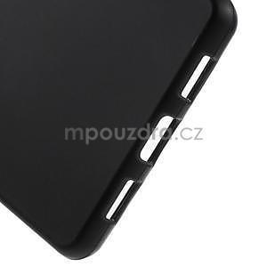 Černý matný gelový obal pro Huawei Ascend P8 Lite - 5