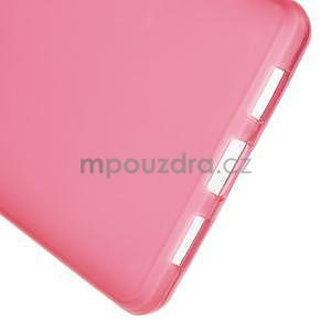 Červený matný gelový obal pro Huawei Ascend P8 Lite - 5